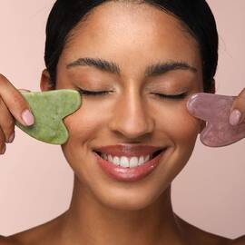 Gua Sha addict ❤️ #guasha #soinvisage #routinebeaute #peauparfaite #beautytools